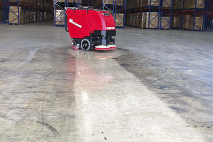 Chicago concrete scrubbing services